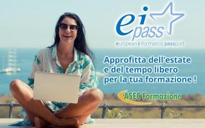 ESTATE 2019 certificati con EIPASS