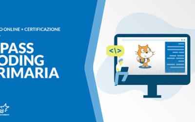 Novità: Certificazione EIPASS Coding Primaria